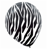 Black Animal Print Party Balloons