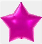 Pink Mylar Star Shaped Balloon