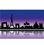 Paris Backdrop Banner