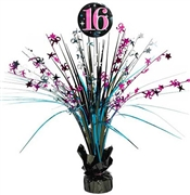 Sweet 16 Celebration Spray Centerpiece