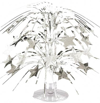 Silver Sparkle Party Centerpiece