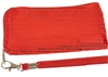 Red Sequin Wristlet