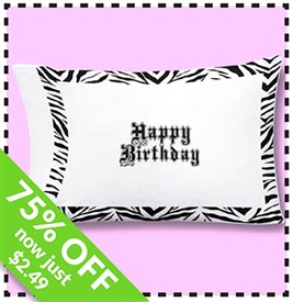 Take 75% Off the Autograph Pillowcase