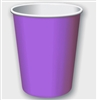 Solid Purple Party Cups