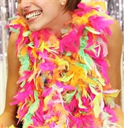 Fluffy Feather Boa: Party Girl Mix | Sweet 16 Feather Boas