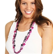 Set of 2 Sweet 16 Beads in Pink & Black