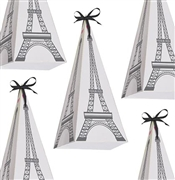 Set of 8 Eiffel Tower Treat Boxes | Sweet 16 Party Favors
