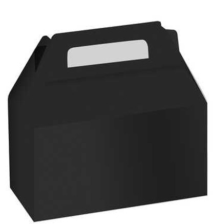 Set of 2 Black Favor Box | Sweet 16 Party Store - The ...
