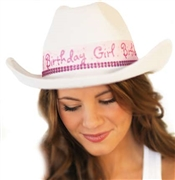 Birthday Girl Western Sweet 16 Hat
