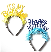 Set of 10 Birthday Headbands | Favors & Decorations | Sweet16PartyStore.com