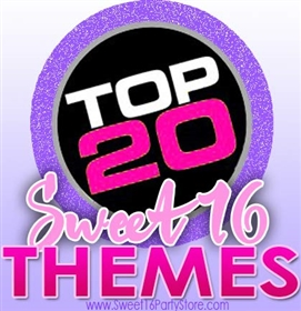 Top Sweet 16 Party Themes for 2016