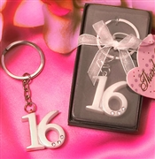 Sweet 16 Key Chain