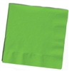 Solid Citrus Green Cocktail Napkins