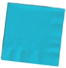Solid Turquoise Cocktail Napkins