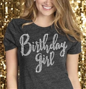 Birthday Girl Rhinestone Tee | Sweet 16 Shirts