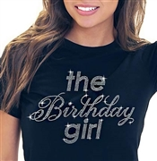 The Birthday Girl Rhinestone Tee | Sweet 16 Shirts