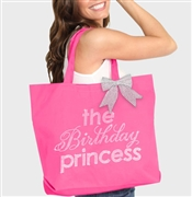 The Birthday Princess Rhinestone Tote