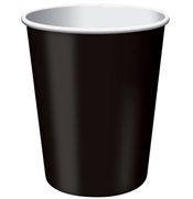 Solid Black Party Cups