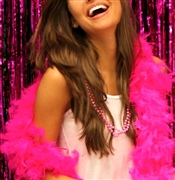 Fluffy Feather Boa: Electric Pink | Sweet 16 feather boas