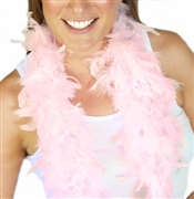 Fluffy Feather Boa: Light Pink | Sweet 16 Feather Boas