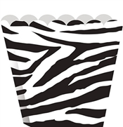Set of 8 Zebra Treat Boxes