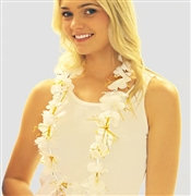 White Sparkle Lei