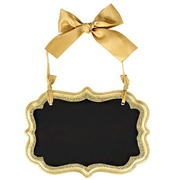 Small Gold Chalk Board Marquee Sign