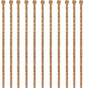 Set of 24 Gold Sparkle Drink Stirrers