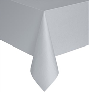 Matte Silver Table Cover