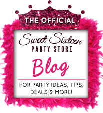 Sweet Sixteen party store blog for party ideas, tips, deals and more!