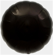 Black Mylar Round Shaped Balloon