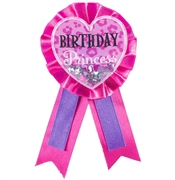 Birthday Princess Award Ribbon Birthday Princess