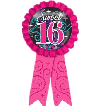 Sweet 16 Award Ribbon