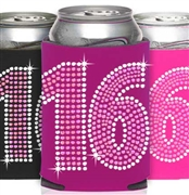 Pink & Crystal 16 Can Cooler