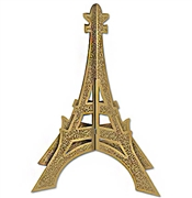 Glitter Gold Eiffel Tower Centerpiece