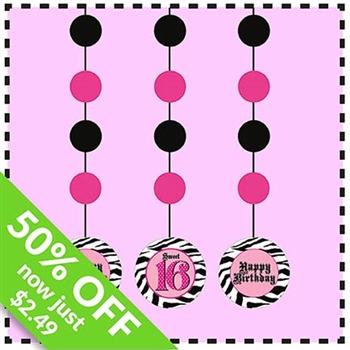Take 50% Off Set of 3 Jumbo Hanging Cutouts with Coupon Code