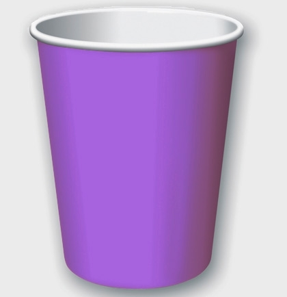 Sweet 16 9oz Paper Cups 8