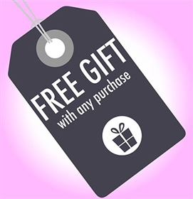 Free Gift with Any Order