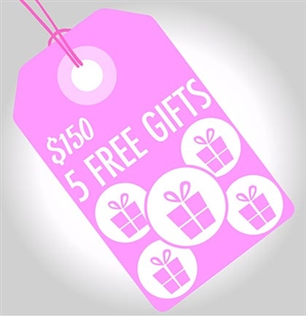 Add a FREE Birthday Girl GIFT when you spend $150 or more