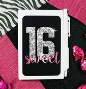 Sweet 16 Notebook with Pen