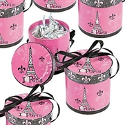 Set of 8 Mini Paris Favor Box