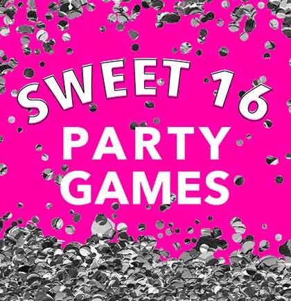 Wonderlijk Sweet 16 Party Games Your Guests Will Go Crazy Over QP-24