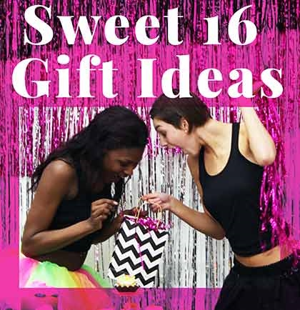 Sweet 16 Birthday Present Ideas Sweet 16 Party Store