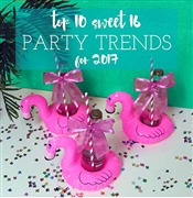 Sweet 16 Party Trends for 2017