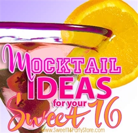 Sweet 16 Mocktail Recipes