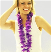 Purple Sparkle Lei