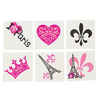 36pc Perferctly ParisTattoos