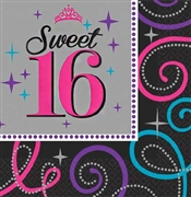 Sweet 16 Celebration Napkins
