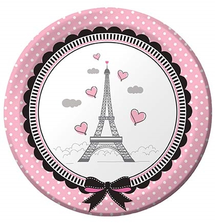 Party in Paris Sweet 16 Plates  sc 1 st  Sweet 16 Party Store & Party in Paris Sweet 16 Plates | Sweet 16 Party Store