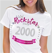 Total Rockstar Since 2000 Tee | Sweet 16 Shirts